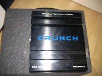 Skrzynia basowa Kenwood z wzmacniaczem Crunch Turek - zdjęcie 2