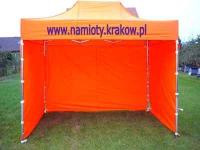 Namiot handlowy - ogrodowy 3x3 z 3  bokami Nowa Huta - zdjęcie 1