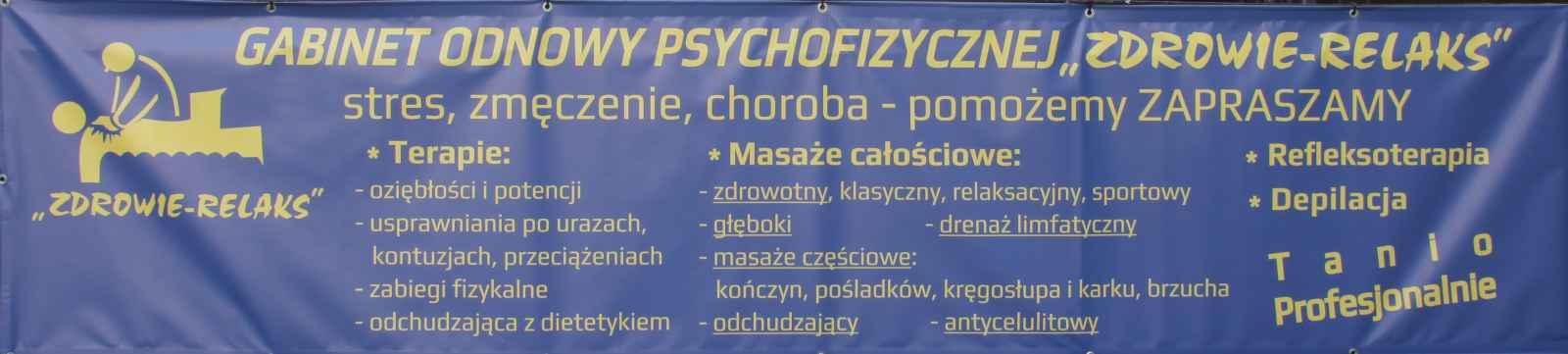 """Gabinet masażu, fizjoterapii, depilacji , """" Zdrowie Relaks """" Nowe Miasto - zdjęcie 4"""