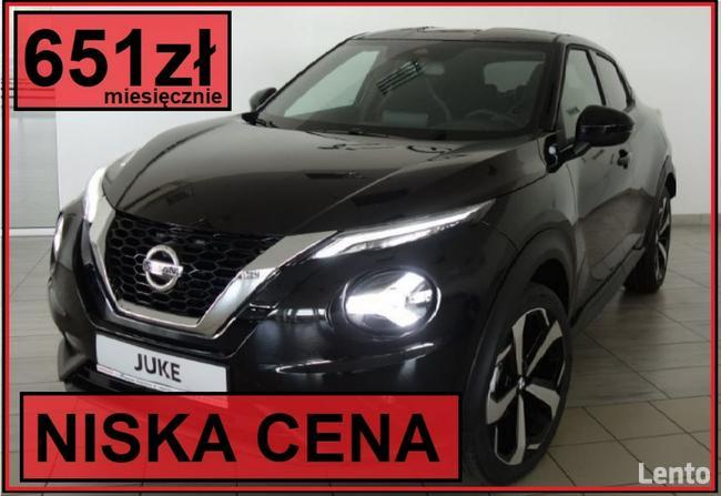 Nissan Juke N-Connecta 117KM Pak Zimowy, Felgi 19, Niska rata 651zł Szczecinek - zdjęcie 1