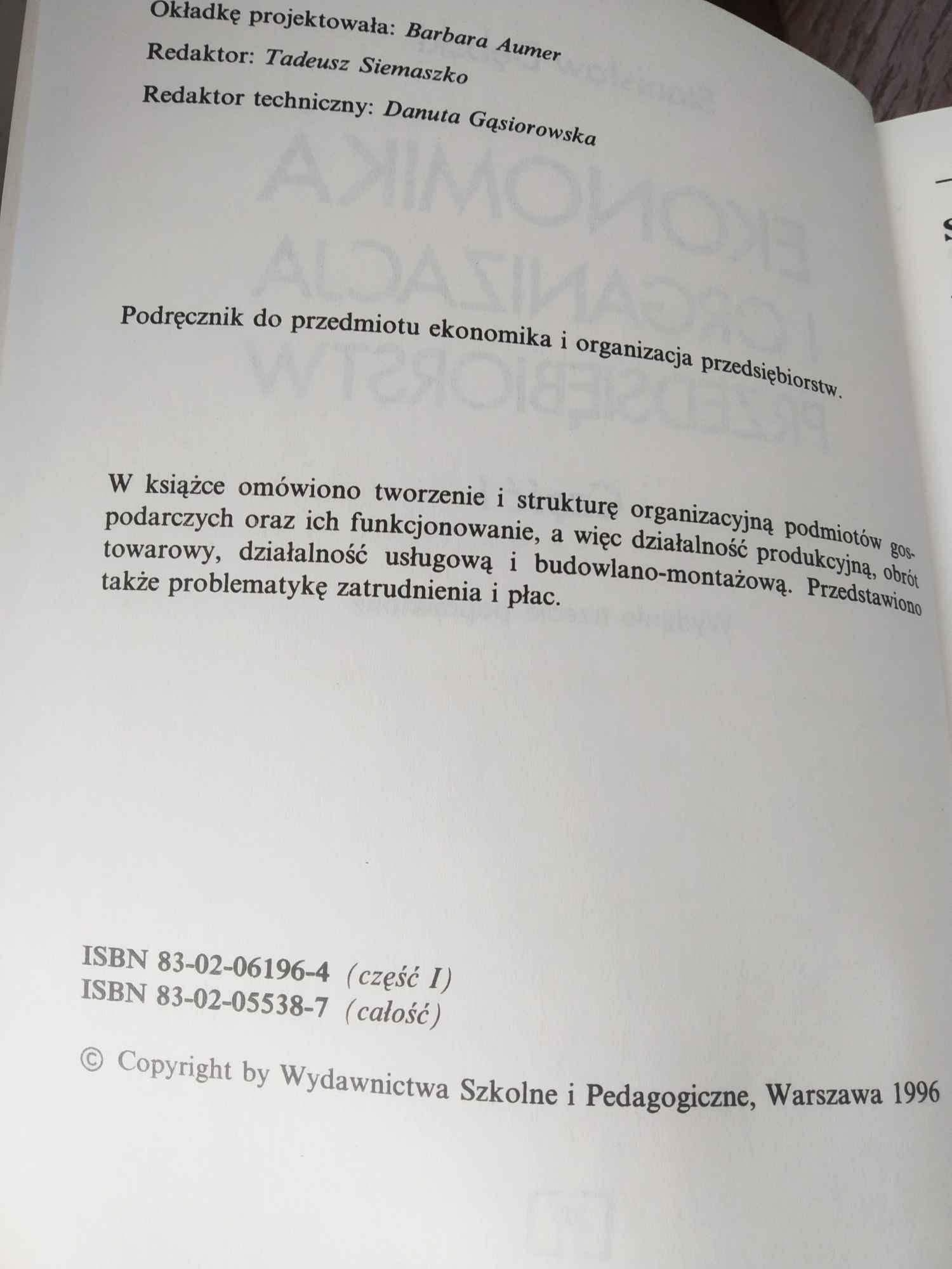 EKONOMIKA I ORGANIZACJA PRZEDSIĘBIORSTW Białołęka - zdjęcie 3