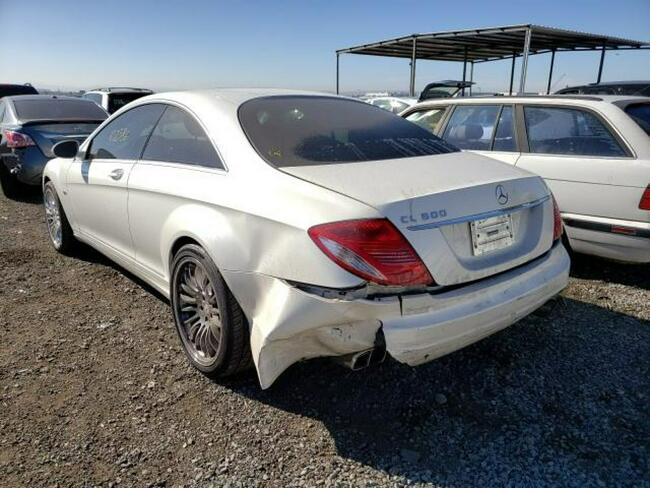 Mercedes CL 600 2008, 5.5L, uszkodzony tył Słubice - zdjęcie 4