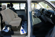 Volkswagen Transporter F-Vat,Gwarancja,Salon Polska,9-osób,LONG Warszawa - zdjęcie 5