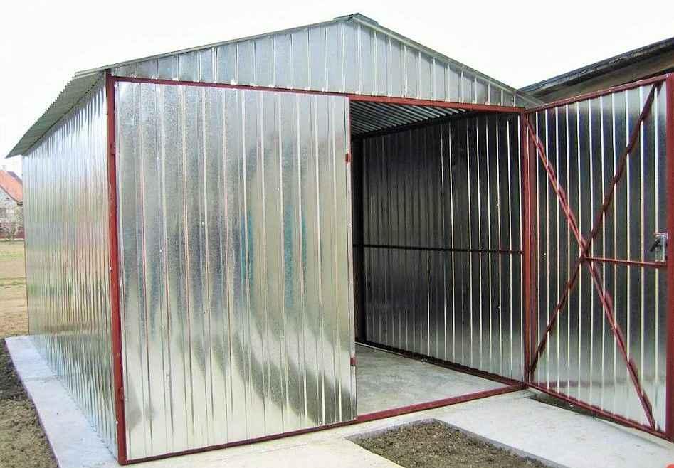 Garaż blaszany 3x5 4x6 6x5 GARAŻE wzmocnione CAŁA POLSKA szybki termin Śródmieście - zdjęcie 6