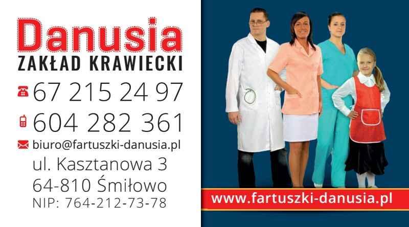 Odzież medyczna, fartuchy medyczne - Fartuszki Danusia Śmiłowo - zdjęcie 1