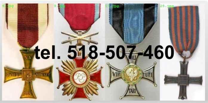 Kupię stare ordery, medale, odznaki, odznaczenia Krzyki - zdjęcie 1