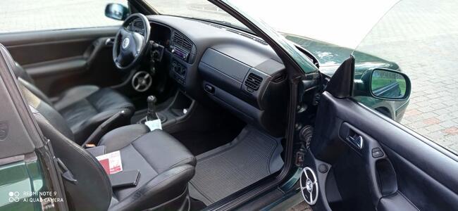 Volkswagen Golf 4 Cabrio 1,6 benzyna Zielona Góra - zdjęcie 11