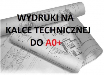 Wydruk na kalce technicznej do A0+ Płock - zdjęcie 1