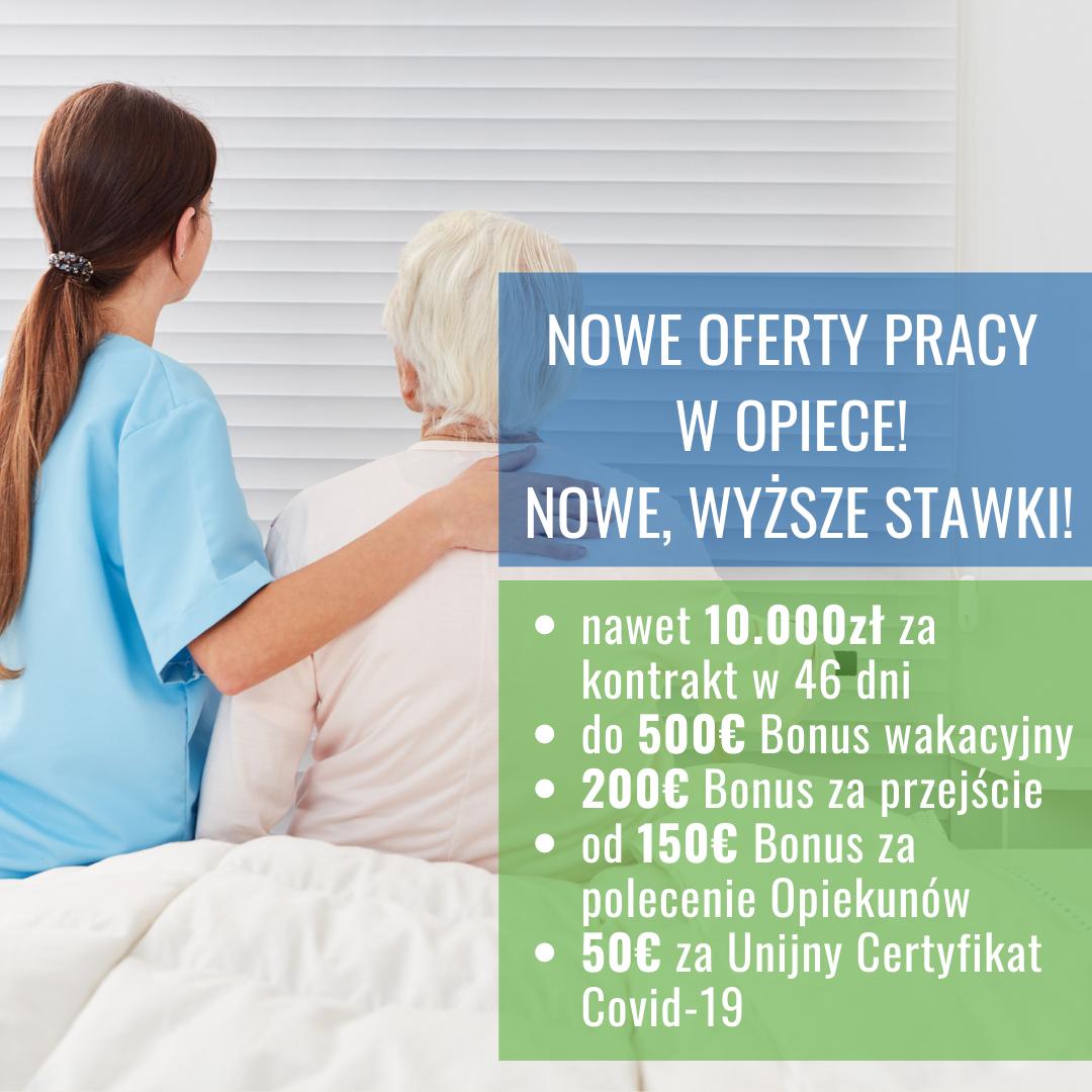 Opiekunka Seniora, Monachium, wysokie wynagrodzenie + Bonusy Opole - zdjęcie 1