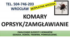 Zwalczanie kleszczy, cena, Wrocław, t504-746-203, Opryski, likwidacja. Psie Pole - zdjęcie 5