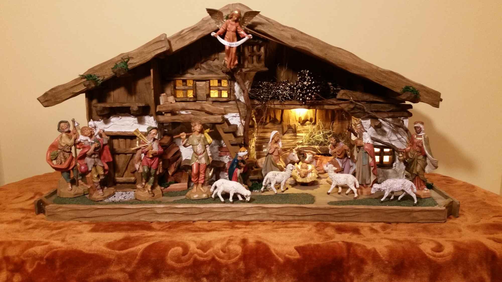 Szopka stajenka Bożonarodzeniowa Żywiec - zdjęcie 1
