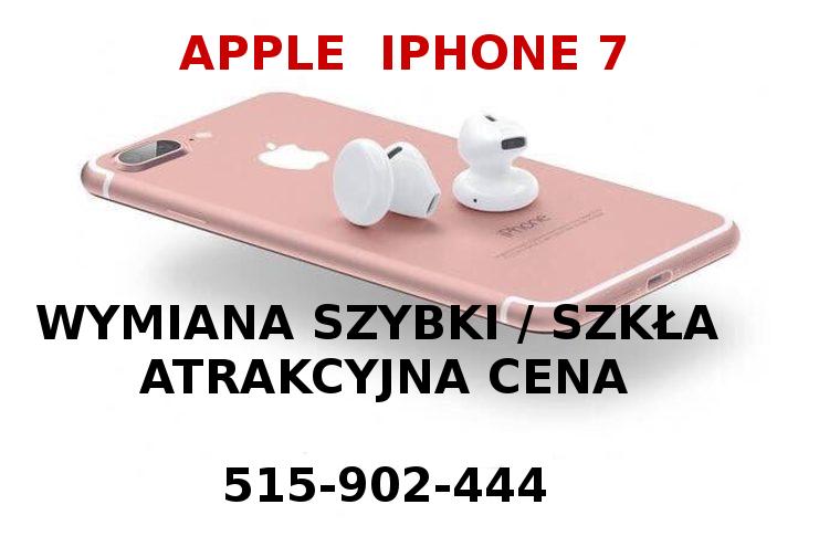 Wymiana szybki ekranu iPhone XR 8 7 6 6s plus Białołęka - zdjęcie 1