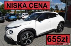 Nissan Juke N-Connecta 117KM Pak Zimowy, Felgi 19, Niska rata 645zł Szczecinek - zdjęcie 1