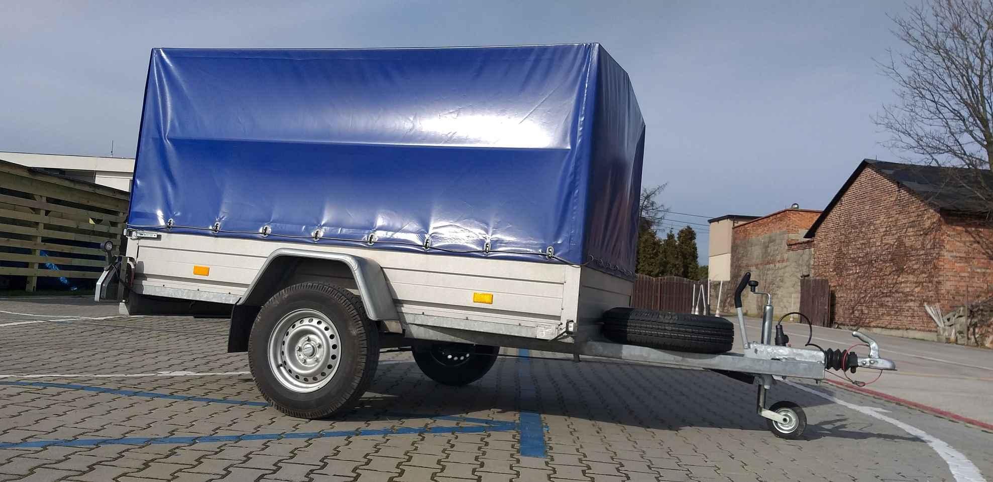 Transport towarowy Kalisz, wynajem przyczep, wypożyczalnia przyczep Kalisz - zdjęcie 2