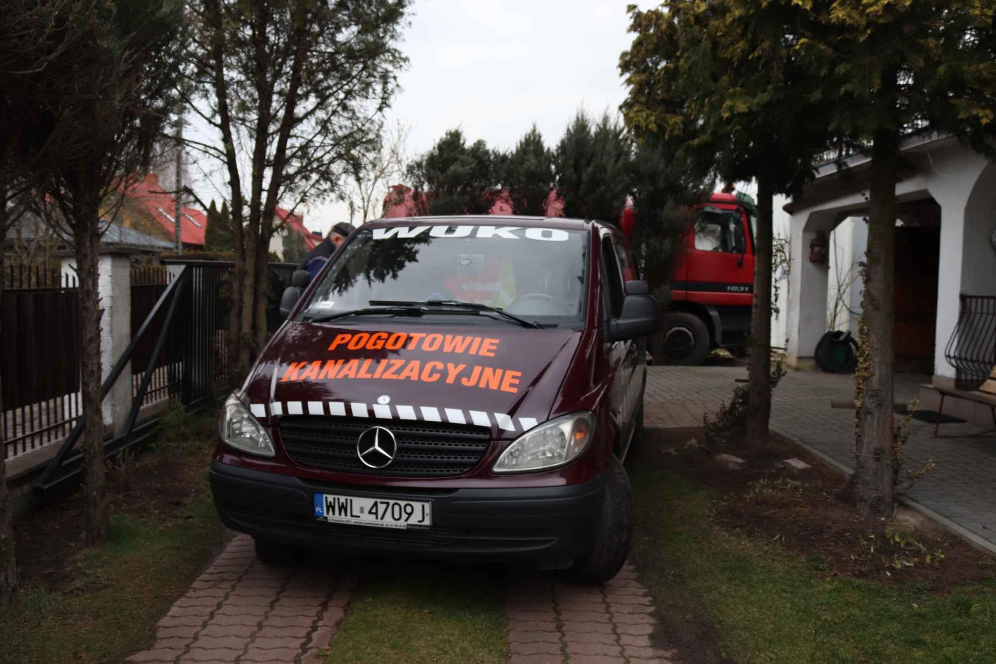 przepychanie rur, Wuko Pogotowie kanalizacyjne monitoring kamerą tv Wołomin - zdjęcie 1
