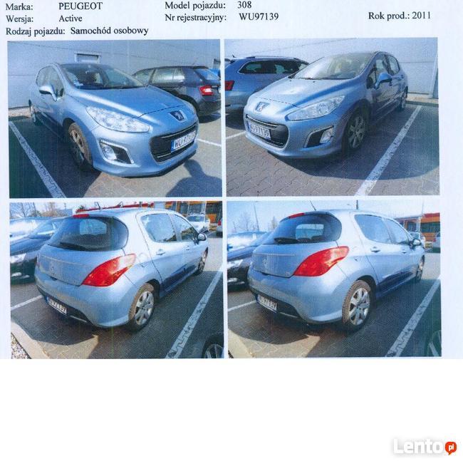 Na sprzedaż PEUGEOT 308 Warszawa - zdjęcie 1