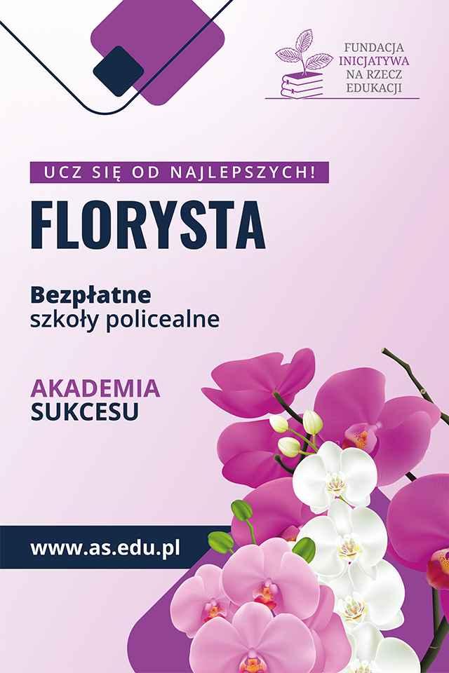 Kierunek FLORYSTA- 100% zdawalności z egzaminu Białystok - zdjęcie 1
