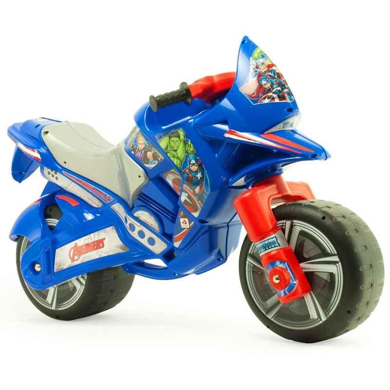 Rowerek biegowy INJUSA Duży Motor Biegowy Jeździk Dla Dzieci Avengers Galiny - zdjęcie 1
