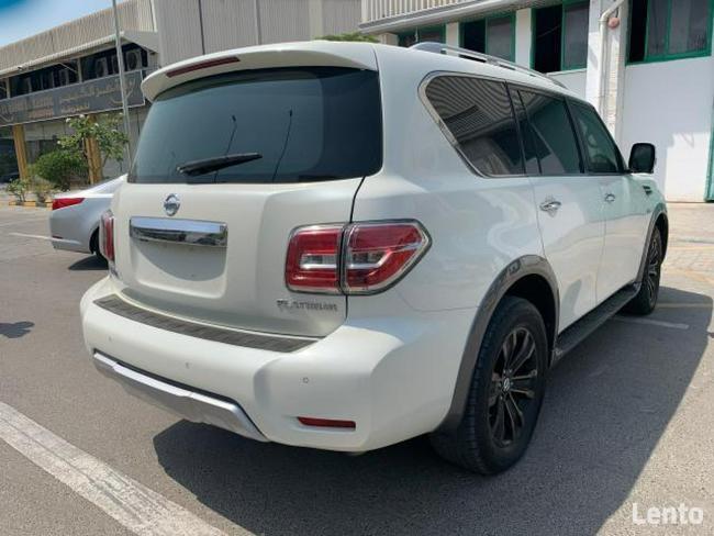 Nissan Armada 5.6 V8 benz. 400 KM 4x4 Automat 7-bieg. 2017 Bielany Wrocławskie - zdjęcie 4