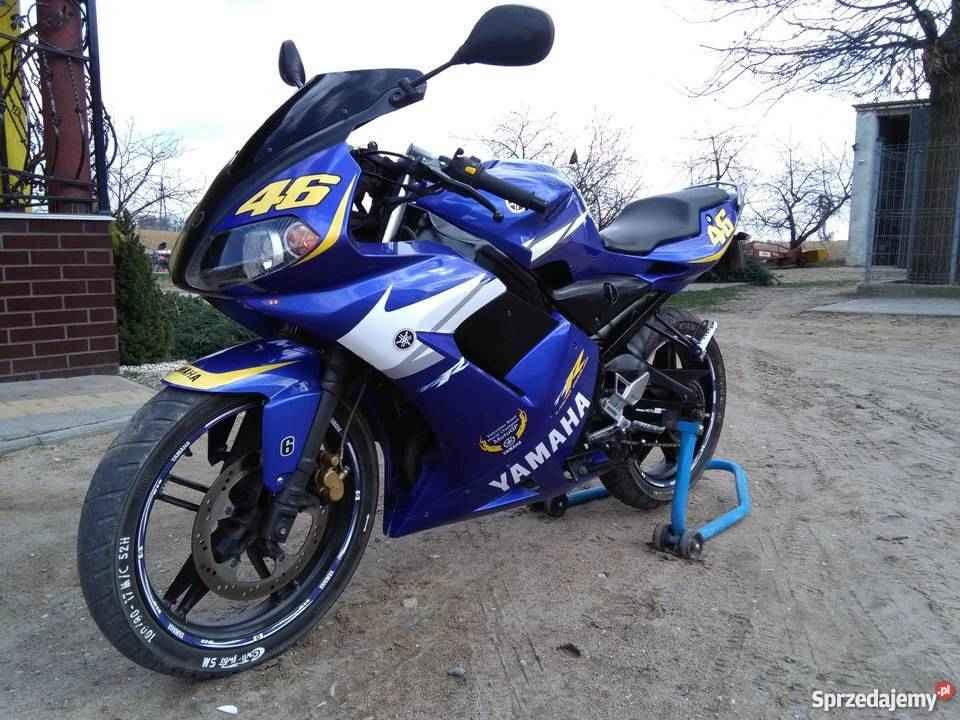 MOTOCYKL YAMAHA TZR 50/80 2006r. - VALENTINO ROSSI -SUPER STAN Kielce - zdjęcie 2