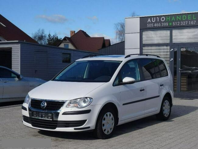 Volkswagen Touran 1.4TSI 140KM Serwis Bezwypadkowy Szyberdach Opłacony Kościerzyna - zdjęcie 5