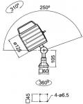 LAMPY LED-1 LED-2 LED-3 DO TOKAREK FREZAREK WIERTAREK Fabryczna - zdjęcie 4