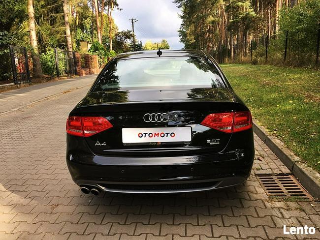 Audi A4 2.0 turbo  211km s-line  quattro xenon skóra alu top Bugaj - zdjęcie 6
