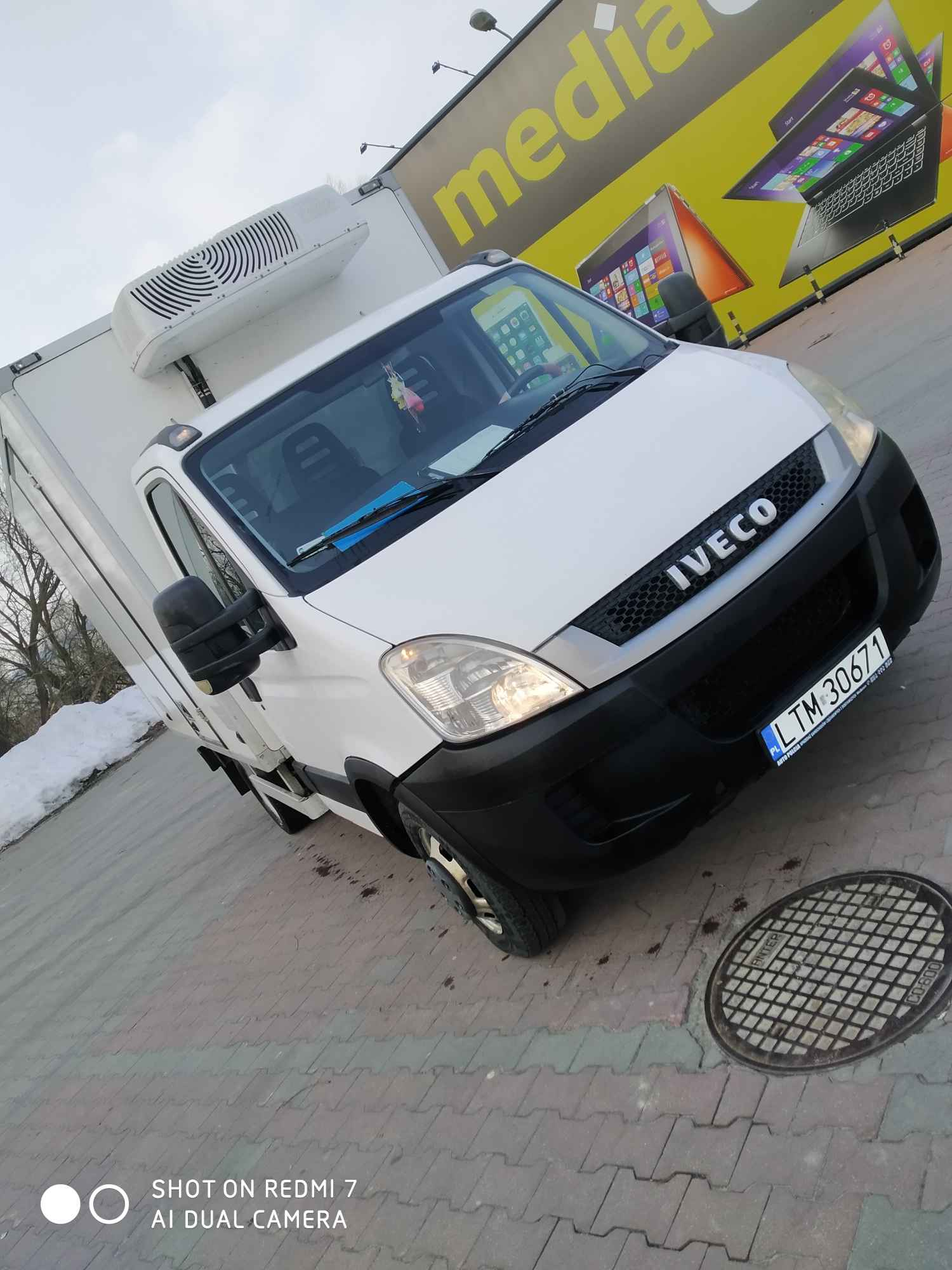 Iveco Daily 35C13 2,3 HPI chłodnia 6/8 euro palet Tomaszów Lubelski - zdjęcie 7