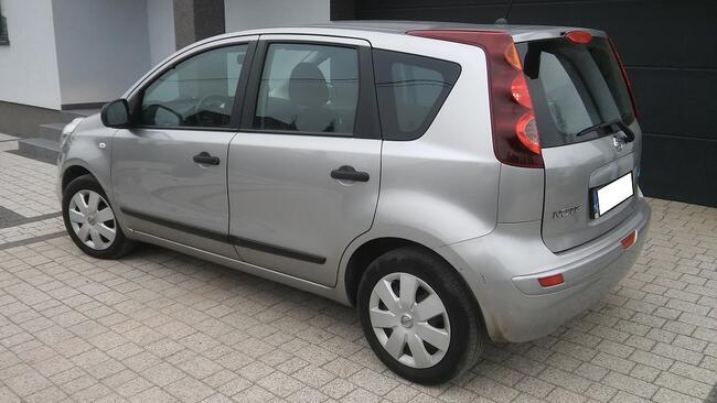 Nissan Note 1,4 benzyna 2011r Salon oryginał Płock - zdjęcie 6