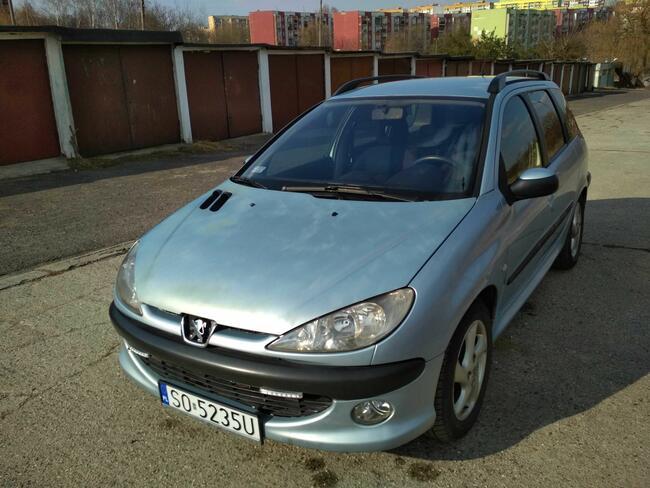 Peugeot 206SW doinwestowany bez DWUMASY Sosnowiec - zdjęcie 4
