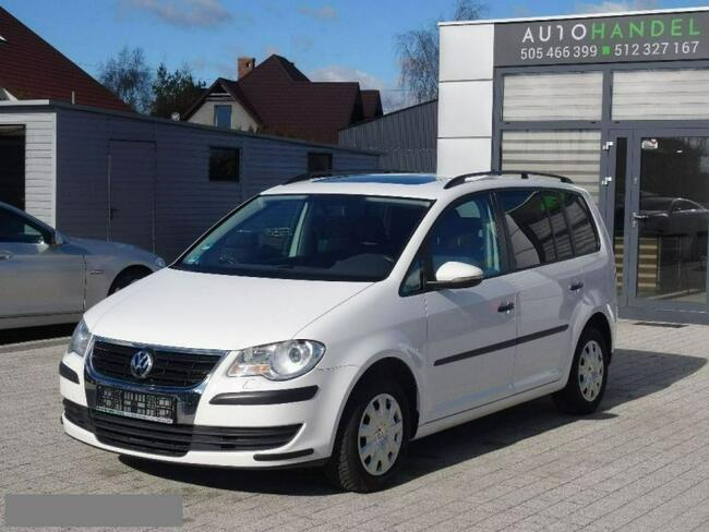 Volkswagen Touran 1.4TSI 140KM Serwis Bezwypadkowy Szyberdach Opłacony Kościerzyna - zdjęcie 4
