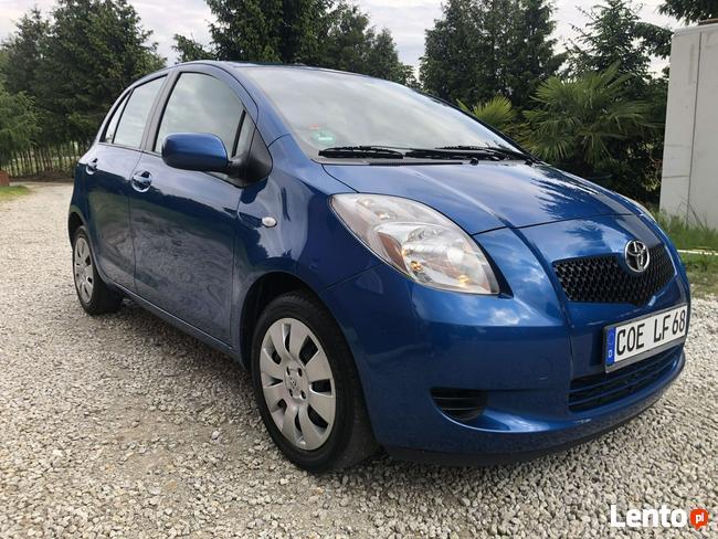 Toyota Yaris 1.3 benzyna, klima, 1 właściciel, bezwypadek, 100% serwis Leszno - zdjęcie 4