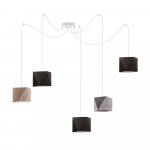 Lampa sufitowa wisząca abażur diament POP! Częstochowa - zdjęcie 4