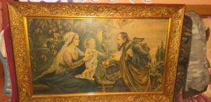 Obraz święta rodzina 100cm na 60cm Tczew - zdjęcie 2