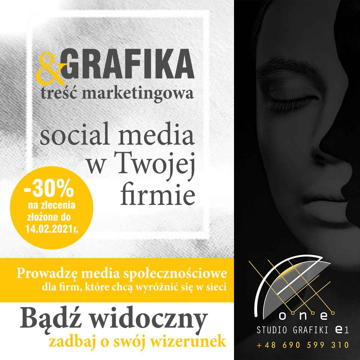 Prowadzenie social media - obsługa graficzna firm Grodzisk Mazowiecki - zdjęcie 1