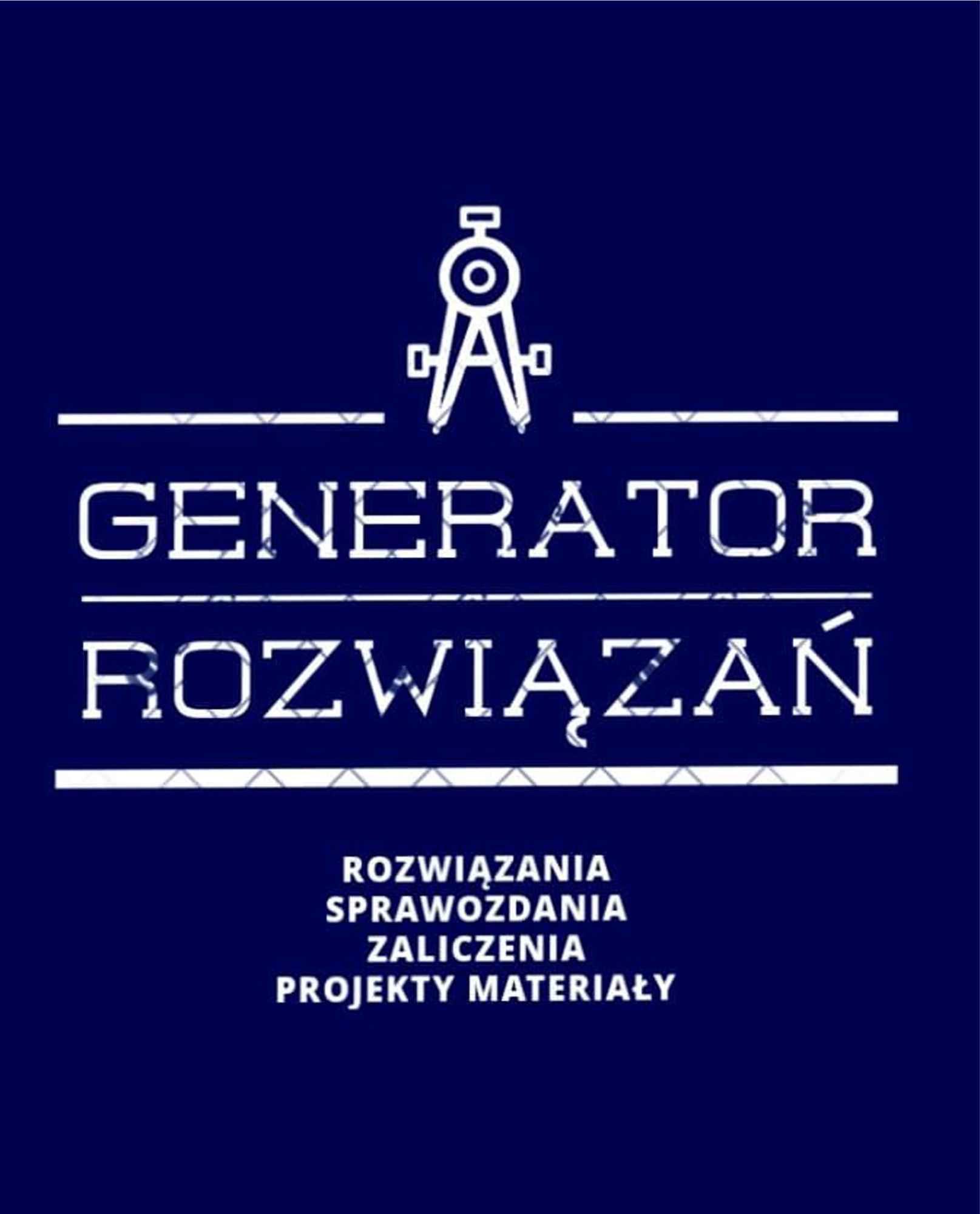 Sprawozdania, projekty, prace zaliczeniowe!! - Generator Rozwiązań Śródmieście - zdjęcie 8