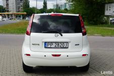 Nissan Note nawigacja, salon Polska Warszawa - zdjęcie 6