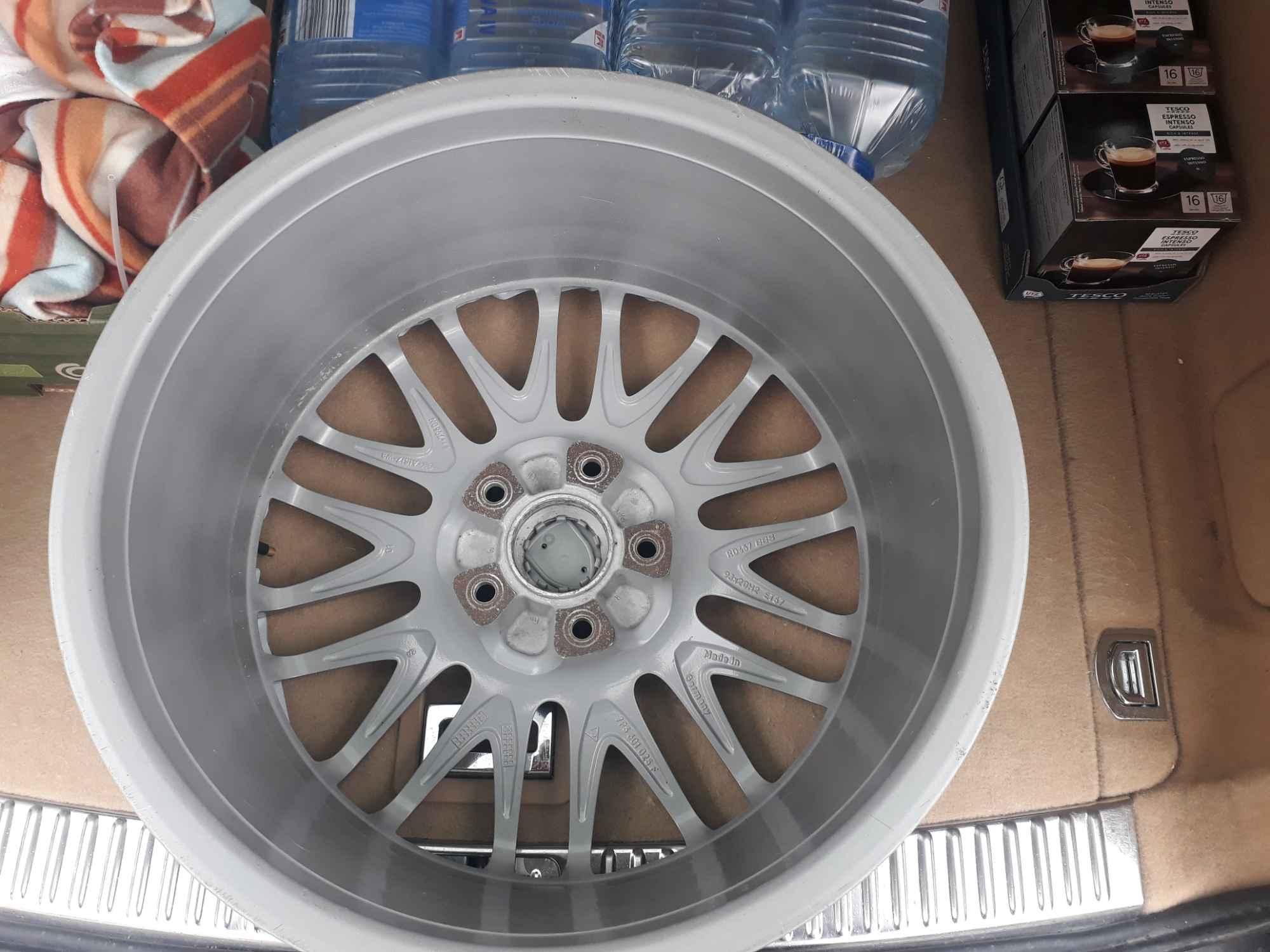 """Alufelgi BBS Porsche Cayenne Oryginalne 20"""" 5/130 Et57 Olsztyn - zdjęcie 4"""
