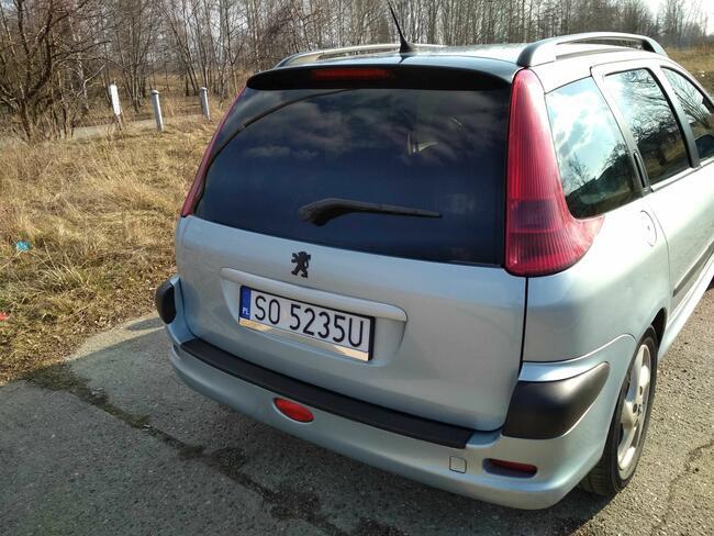 Peugeot 206SW doinwestowany bez DWUMASY Sosnowiec - zdjęcie 5