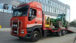 Transport wózków widłowych maszyn koparek Poznań 604 999 084 Grunwald - zdjęcie 4