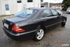 Mercedes W220  320 CDI - SALON POLSKA, KLIMA,XENNON,SKÓRY, NAVI Nowy Sącz - zdjęcie 8