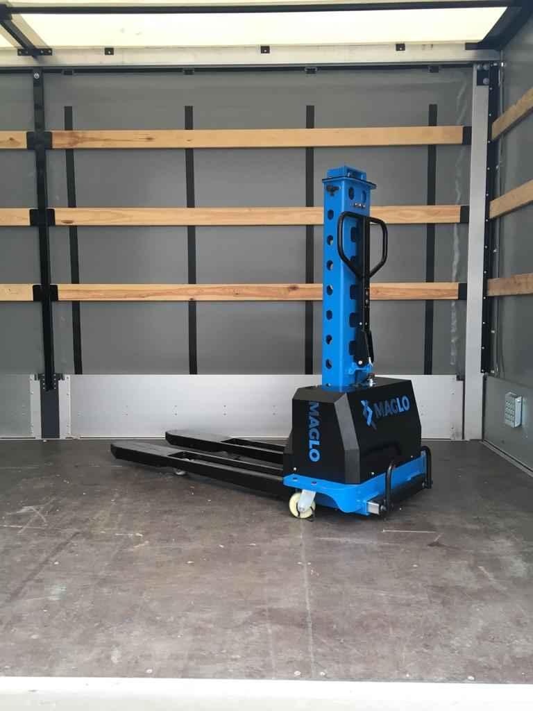 Półautomatyczny wózek samozaładowczy 0,5 T jak innolift Bałuty - zdjęcie 1