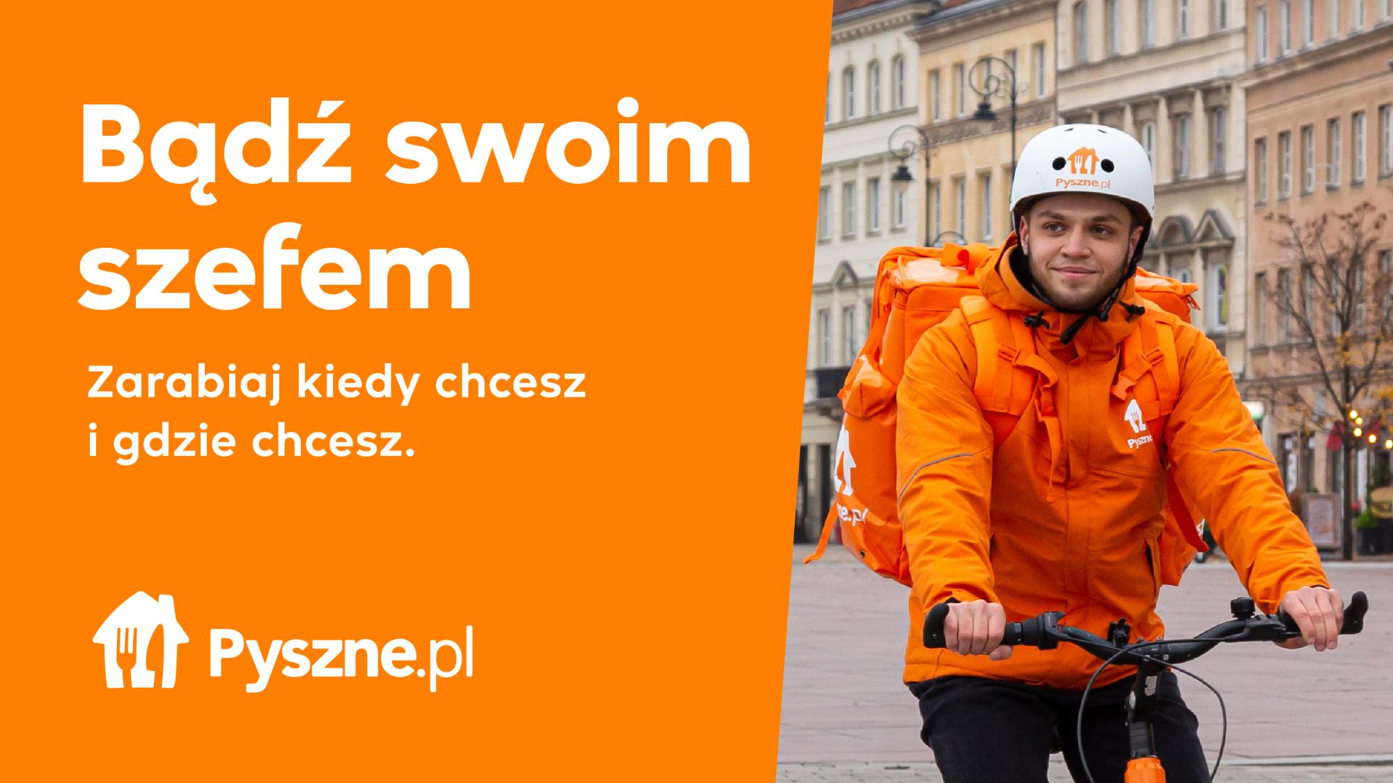 Elastyczny grafik, bonusy, awanse - nawet do 21,90 zł/h w Pyszne.pl! Zielona Góra - zdjęcie 2