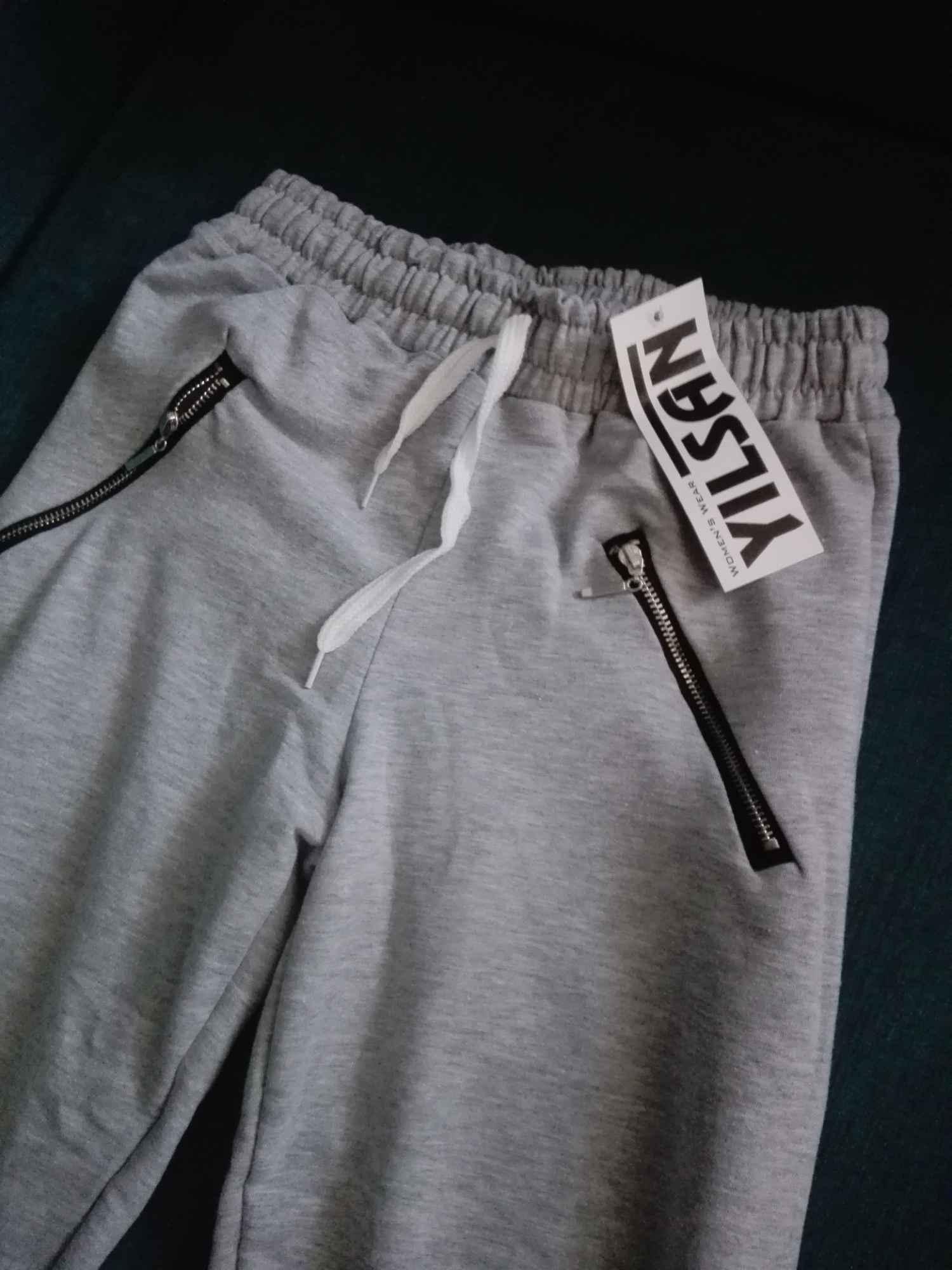 Spodnie dresowe damskie z kieszeniami s-xl Elbląg - zdjęcie 2