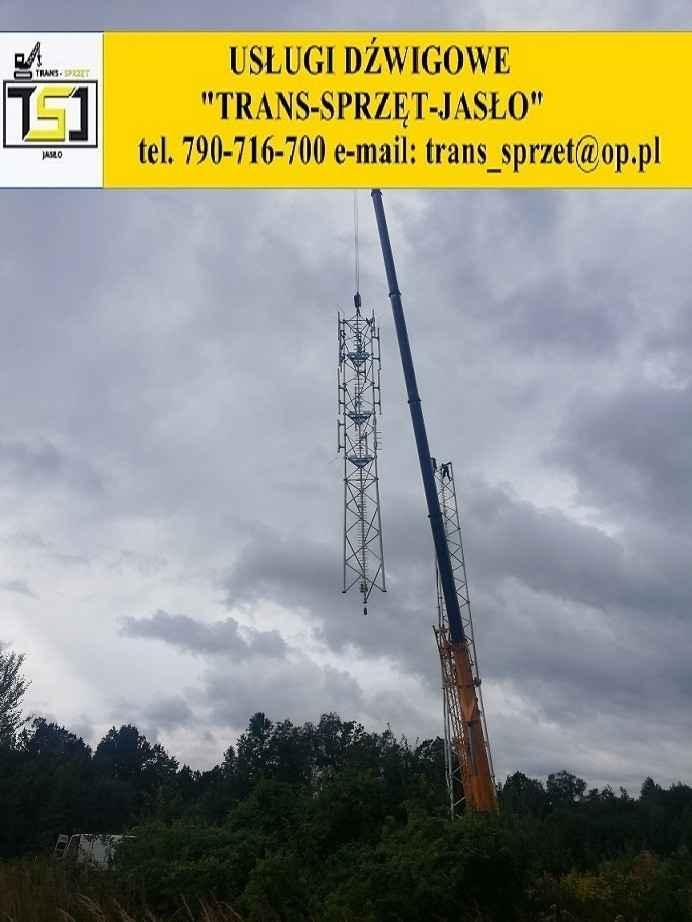 Dźwig tel 790716700 usługi dźwigowe Krosno JASŁO dźwigi do 130 ton Krosno - zdjęcie 2