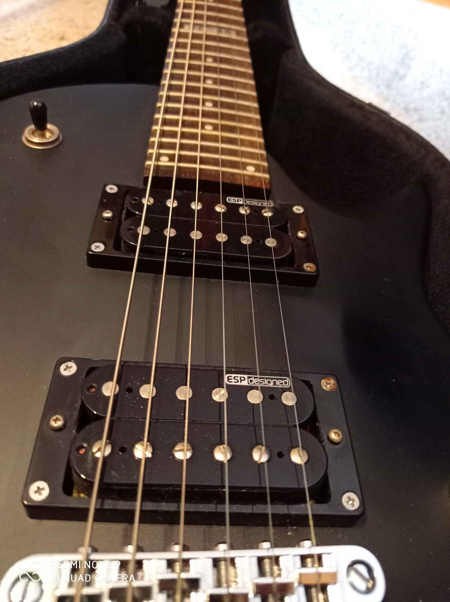 Gitara Elektryczna ESP LTD EC-50 BLKS + DODATKI (DARMOWA WYSYŁKA) Lubań - zdjęcie 2