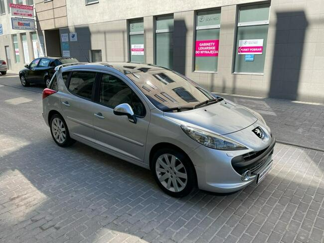 Peugeot 207 SW GTI 1.6T Manual Klima Skóra PDC Lublin - zdjęcie 9