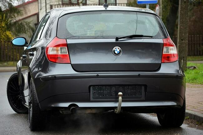 BMW 120 Opłacone 2.0i 150KM Serwis Rude skóry Navi Pdc Gwarancja Kutno - zdjęcie 9