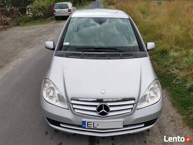 Ekonomiczny Mercedes Klasa A, nowy przegląd ważny rok + OC, Bałuty - zdjęcie 1