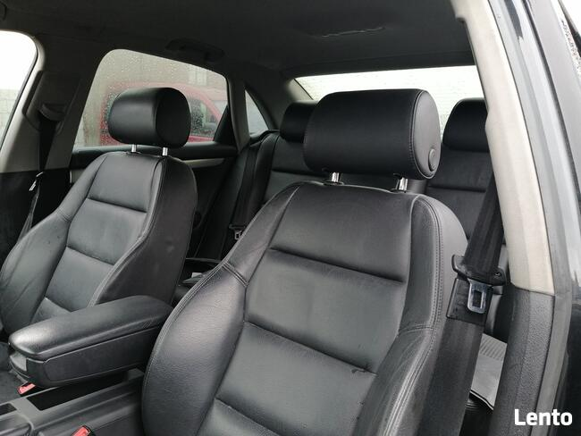 Audi A4 B6 full opcja Bogate wyposażenie czarna skóra Warto! Rusinów - zdjęcie 7